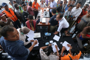 Polrestabes Surabaya Ciduk 153 Preman Jalanan