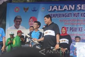 Wali Kota Kediri Ajak Korpri dan PGRI Selalu Bersinergi