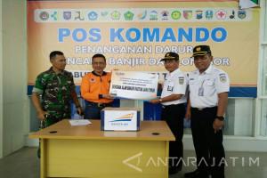 KAI Salurkan Bantuan Bagi Korban Bencana Pacitan