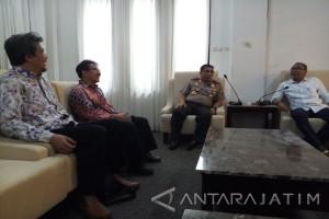 Antara Biro Jatim Berkunjung ke Kapolda (Video)