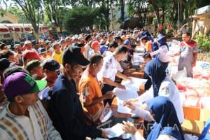 Ratusan Pengemudi Becak Kota Probolinggo Terima TNB-STNB