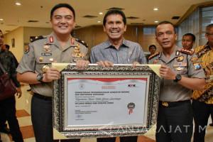 Polrestabes Surabaya Raih Predikat Wilayah Bebas Korupsi