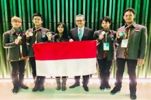 Indonesia Raih Dua Emas dan Tiga Perak IJSO Nederland