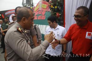 Kapolrestabes Surabaya di HUT ke-80 LKBN Antara