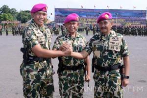 Kolonel Marinir Arinto Benny Sarana Jabat Komandan Bantuan Tempur-1