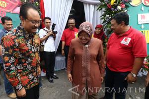 Wagub Jatim Dan Wali Kota Surabaya Menghadiri HUT Antara
