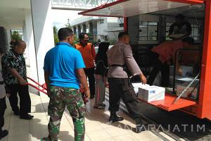 BPBD Pamekasan Salurkan Bantuan Korban Banjir Pacitan
