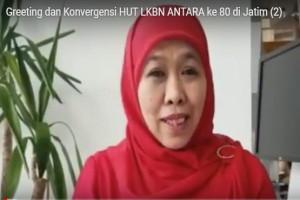 Greeting HUT Ke-80 LKBN ANTARA dan Berita Konvergensi di Jatim (2)