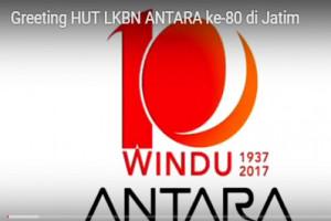Greeting HUT Ke-80  LKBN ANTARA di Jatim (1)
