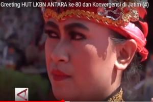 Greeting HUT Ke-80 LKBN ANTARA  dan Konvergensi di Jatim (4)
