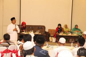 Alumni IKSASS Jember Silaturahim dengan Wagub Jatim