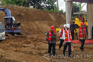 Pembangunan Rel Ganda Sukabumi-Bogor Diresmikan Presiden Jokowi