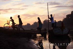 UPT: Ketinggian Air Bengawan Solo di Bawah Siaga Banjir