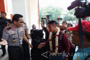 Waka Polda Jatim Sambut Bhayangkara FC di Surabaya