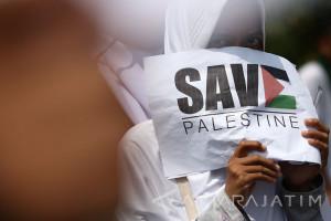 Perempuan Palestina Berada di Garis Depan Demo Anti-Israel