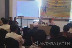 KPU Jatim Sosialisasikan Teknik Pencalonan Pilkada 2018