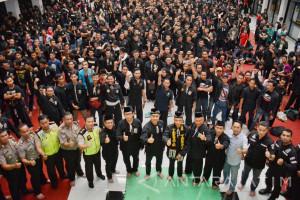Polrestabes Surabaya dan Masyarakat Deklarasikan Surabaya Aman