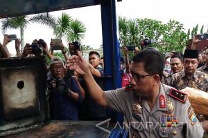 Jutaan Barang Bukti Narkoba Dimusnahkan Polda Jatim (Video)