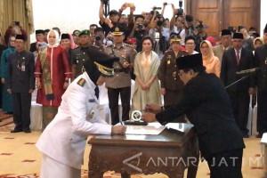 Dewanti Rumpoko Resmi Pimpin Kota Batu Usai Dilantik Gubernur (Video)