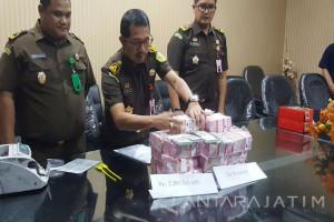 Tersangka Korupsi PT. WUS Kembalikan Uang Rp4,4 Miliar