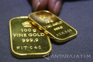 Kontrak Emas Berjangka Lebih Tinggi