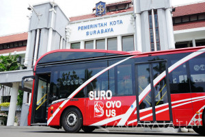Dishub Surabaya Tambah Rute Suroboyo Bus