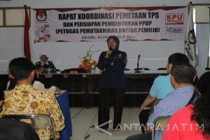 KPU Kediri Persiapan Pembentukan PPDP