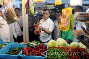 Harga Sembako di Pasar Tradisional Jember Masih Stabil