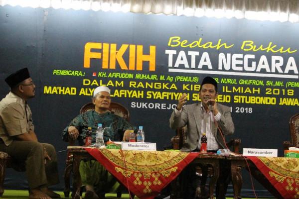 Fikih Tata Negara Dibedah di Ponpes Salafiyah Syafi'iyah Situbondo