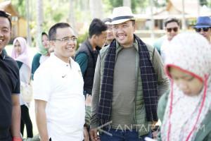 Menpora Nikmati Libur Akhir Tahun di Banyuwangi