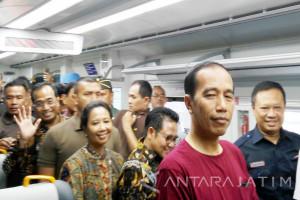 Jokowi ingin Moda Transportasi yang Terintegrasi (Video)