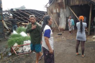 20 Rumah di Situbondo Rusak Diterjang Angin Puting Beliung