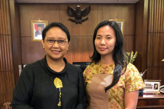 Bangganya Livi Zheng Sutradarai Film Indonesia untuk PBB
