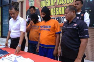 Polisi Polresta Sidoarjo Tangkap Pelaku Pengeroyokan