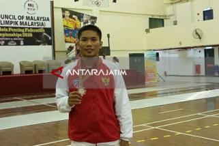 Atlet Anggar Situbondo Raih Perunggu di Malaysia