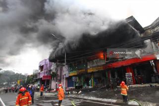 Kebakaran Sportstation Malang