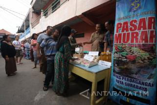 Pemkot Surabaya Optimalkan Pengawasan Harga Beras di Pasaran
