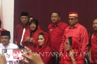Risma Ajak Warga Surabaya Pilih Gus Ipul-Puti (Video)
