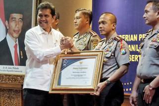 Polrestabes Surabaya Raih Predikat Pelayanan Publik Terbaik