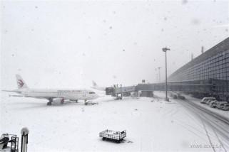 Kerugian Rp540 Miliar akibat Badai Salju China Tengah