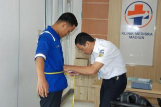 Daop Madiun Periksa Kesehatan Pekerja Unit JJ-Operasi