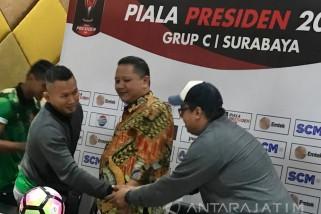 Persiapan Surabaya Tuan Rumah Piala Presiden 100 Persen