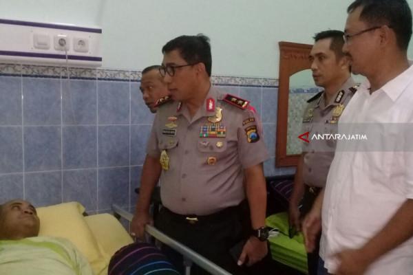 Kapolda Jenguk Polisi Korban Tabrak Lari Buronan Narkoba