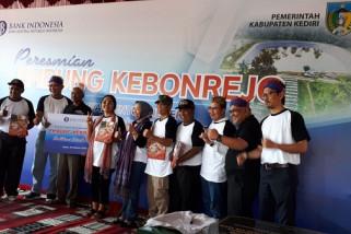 Bank Indonesia Bangun Embung untuk Petani Kediri