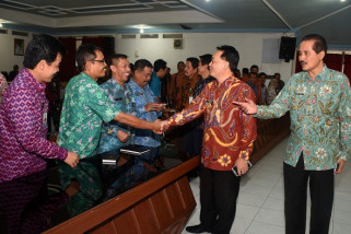 Pjs Wali Kota Kediri Tegaskan Bekerja Bersama-sama