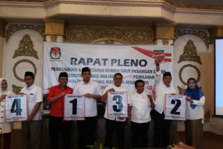 KPU Kota Mojokerto Tetapkan Nomor Urut Calon