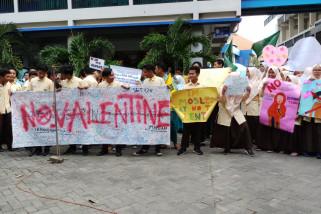 Pelajar Smamda Ikrar Tolak Hari Kasih Sayang