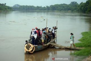 Ketinggian Air Bengawan Solo di Bawah Siaga Banjir