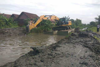 Sidoarjo Lakukan Normalisasi Sungai Mengatasi Banjir