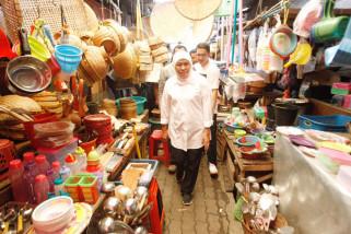 Khofifah Kunjungi Sentra Ekonomi Sidoarjo